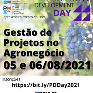 Professional Development Day: Agronegócio