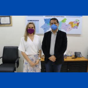 Vice-prefeita do Recife marcará reunião para apresentar o Crea na Comunidade ao secretariado
