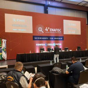 Crea-PE participa do 4º Encontro Nacional de Fiscalização